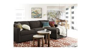 ... Davis Left Arm Apartment Sofa