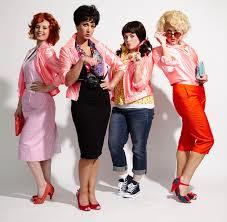 grease pink las jan the pink las