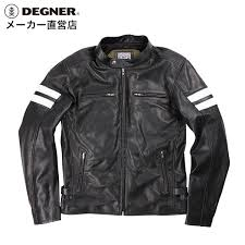 punching leather jacket 17sj 3 degner デグナー in motorcycle jacket summer with mesh leather genuine