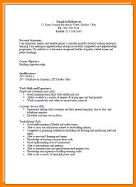 Example Of A Written Cv.cv4.png - Vereador Jamerson