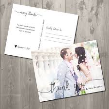 best 25 wedding thank you cards ideas on pinterest wedding Wedding Thank You Cards Printable scribble photo thank you card diy printable thank you card postcard on etsy, $15 00 wedding thank you cards printable free
