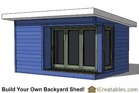 shed office plans. 12x16 modern offiice shed office plans 6