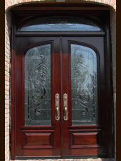 double entry doors Google Search Front porch Pinterest