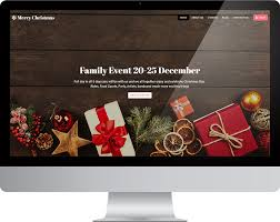 Free Christmas Website Templates Merry Christmas Html Free Bootstrap Responsive Html Template