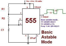 8 led flasher flashing speed control engineersgarage 555ic