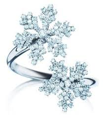 birks snowflake double snowflakes diamond ring