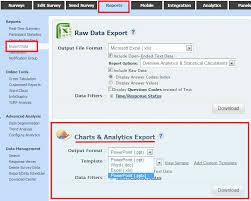 Microsoft Office Reports Surveyanalytics Features