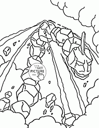 Pokemon Onyx Coloring Pages For Kids