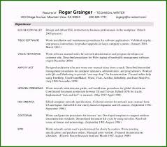 Stirring Technical Writer Resume Template You Must Consider