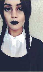 wednesday adams makeup obsessed with this costume