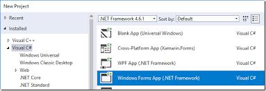 Windows Flatform Which Net Framework For Windows Uwp Wpf Or Windows Forms