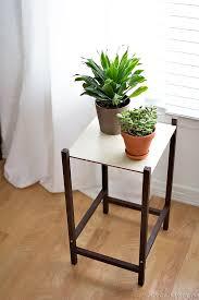 Modern plant stand diy