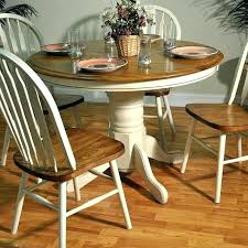 oak kitchen table set white round kitchen table sets the home design exquisite painted oak dining