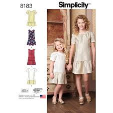 Jumper Pattern Magnificent Simplicity 48 Child's And Girls' Dress Or Jumper