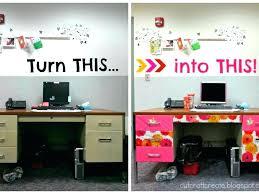 work office decoration items desk accessories decor cubicle