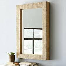wood mirror frame. Barn Wood Mirror Frame Diy Framed Wall Mirrors 1