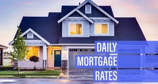 30 Year Va Mortgage Rates Chart Daily Mortgage Rates Decrease For Monday