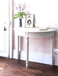 half moon console table half circle console table half circle end table grey half moon console table round tables for half circle console table with