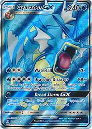 Making it one of his rarest cards in said condition. Amazon Com Gyarados Gx 101 111 Full Art Ultra Rare Toys Games