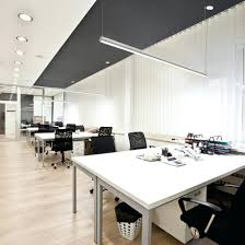 suspended lighting. Suspended Office Lighting. Drop Ceiling Lights Led Lighting Fixtures Lightplane 3 Round Rlp3