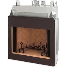 50 inch real masonry wood burning fireplace