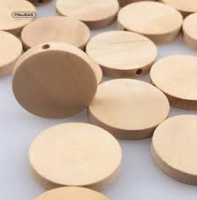 Dutch Game With Wooden Discs PINJEAS 100pcs 100mm Natural Flat Wood Round beads unfinished DIY 87