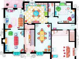 Artist Draws Beautiful Floor Plans Of Famous TV Show Homes  TODAYcomFloor Plan Homes