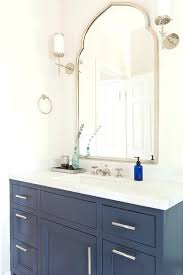 large arched mirror. Arch Top Mirror Blue Bath Vanity With Uttermost Wall In Arched Bathroom Large . N