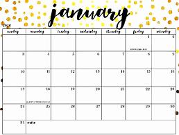 Calendar 2019 Printable With Holidays 47 Cute Calendar 2019