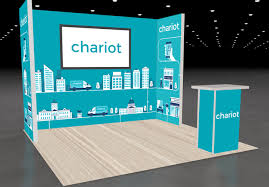 Convention Booth Design Chariot Trade Show Booth Design