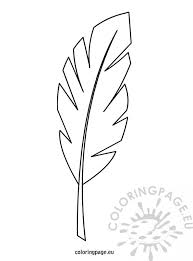 Branch Template Palm Branch Template Coloring Page