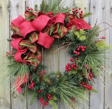 les fleurs florist  christmas door wreaths  paignton torquay brixham