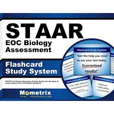 Search » all » science » biology » staar #5. Staar Eoc Biology Assessment Flashcard Study System Staar Test Practice Questions Exam Review For The State Of Texas Assessments Of Academic Readiness Other Walmart Com Walmart Com