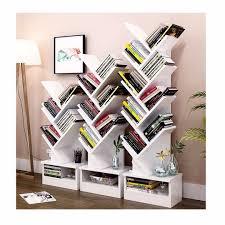 China Wooden Storage Unit Display 5 Tier Tree Shape Bookshelf - China  Wooden Bookcase Bookshelf, Display Bookshelf
