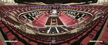 view section 327 row o seat 10 rose garden arena virtual venue 3d interactive interior tour