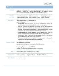 Resume Format For Accountant Assistant Starengineering