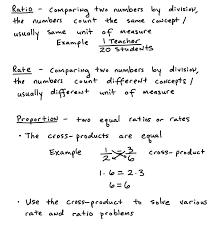 6th Grade Math Ratios And Rates Worksheets Sixth Proportions ...