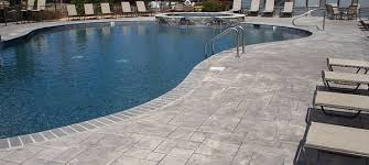 stamped concrete pool patio. Stamped Concrete Driveway Pool Patio