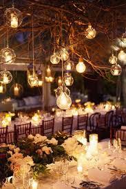 diy tree branch chandelier