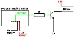 convert digital mains timer to low voltage reuk co uk use mains timer to switch a low voltage relay