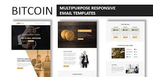 Buy both bitcoin cash (bch) and bitcoin (btc) now using a credit or debit card. Bitcoin Multipurpose Responsive Email Template With Online Stampready Builder Access By Fourdinos