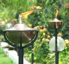 outdoor oil torches lamps