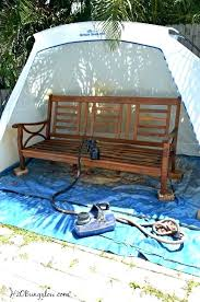 painting outdoor wood furniture painting outdoor wood furniture and spray shelter refinishing outdoor wood furniture painting