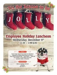 Event Flier Holiday Employee Event Flier Graphic Design Services In