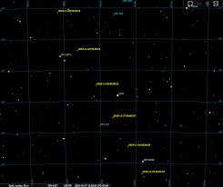 Comet 46p Wirtanen Star Charts