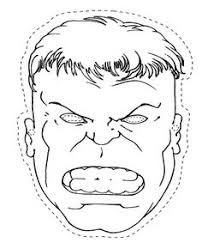 Small Picture Hulk Face Stencil Party Kids Pinterest Face stencils Hulk