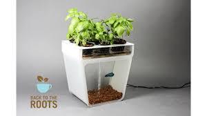 Self Cleaning Fish Tank Garden Home Aquaponics Kit Self Cleaning Fish Tank That Grows Food By