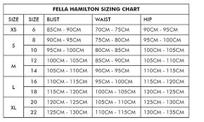 Size Guide Fella Hamilton