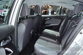 fiat interior backseat. fiat tipo rear seat at geneva motor show 2016 interior backseat m