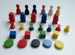 Wooden Game Tokens